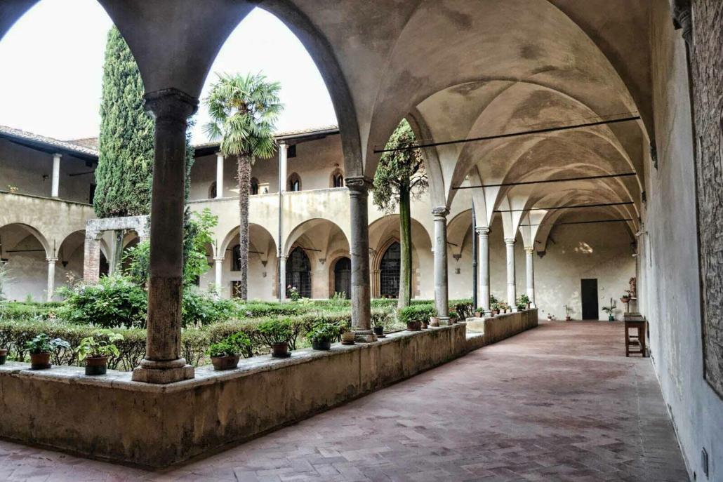Chiostro del Monastero di Sant'Agostino - Gimignano
