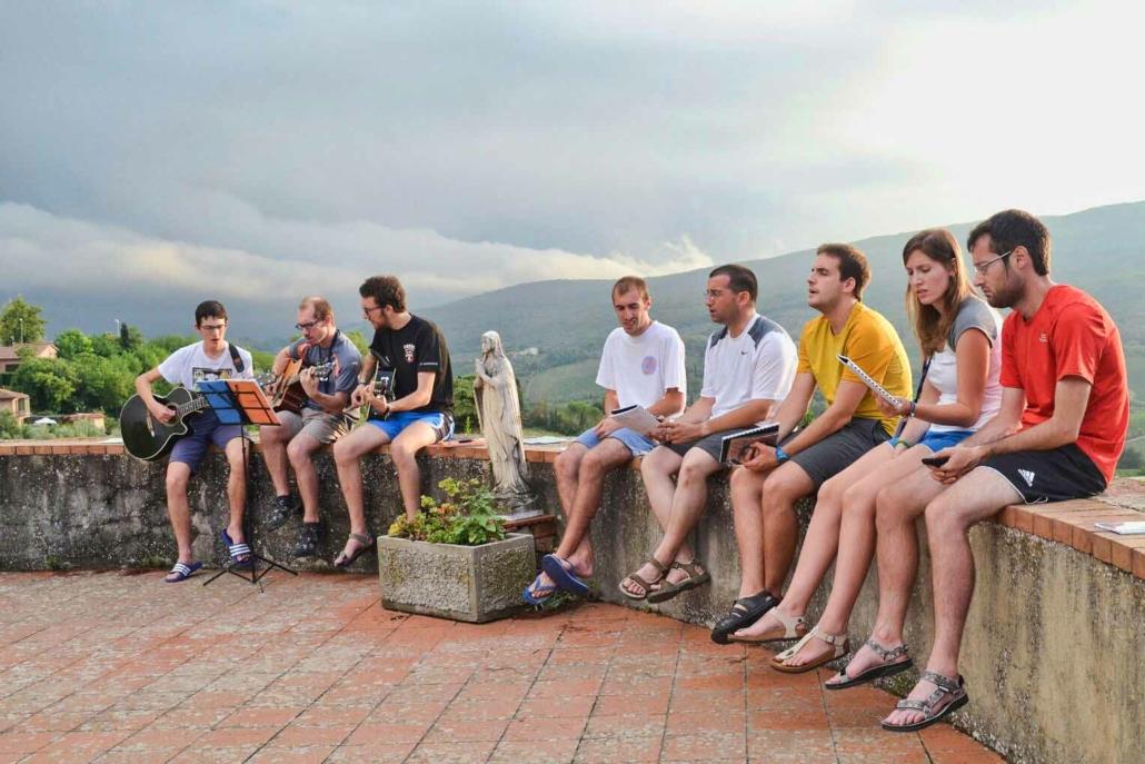Vespri a San Gimignano