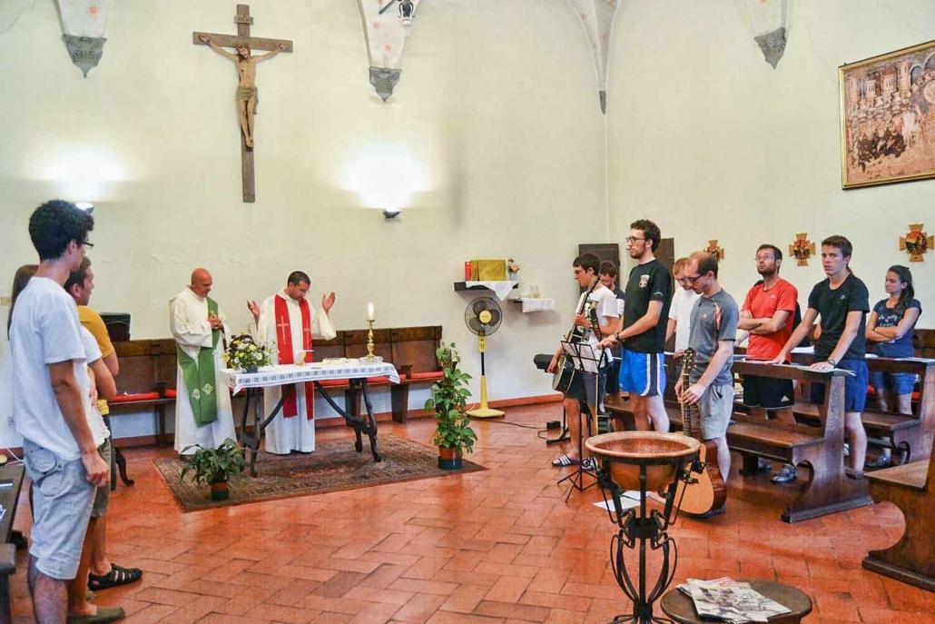 S.Messa presso la Cappella del Monastero di Sant'Agostino - San Gimignano