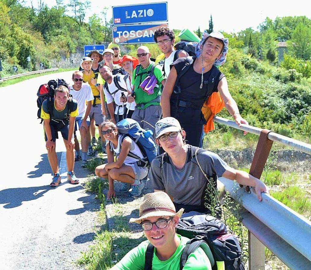 Si varca il confine Toscana - Lazio