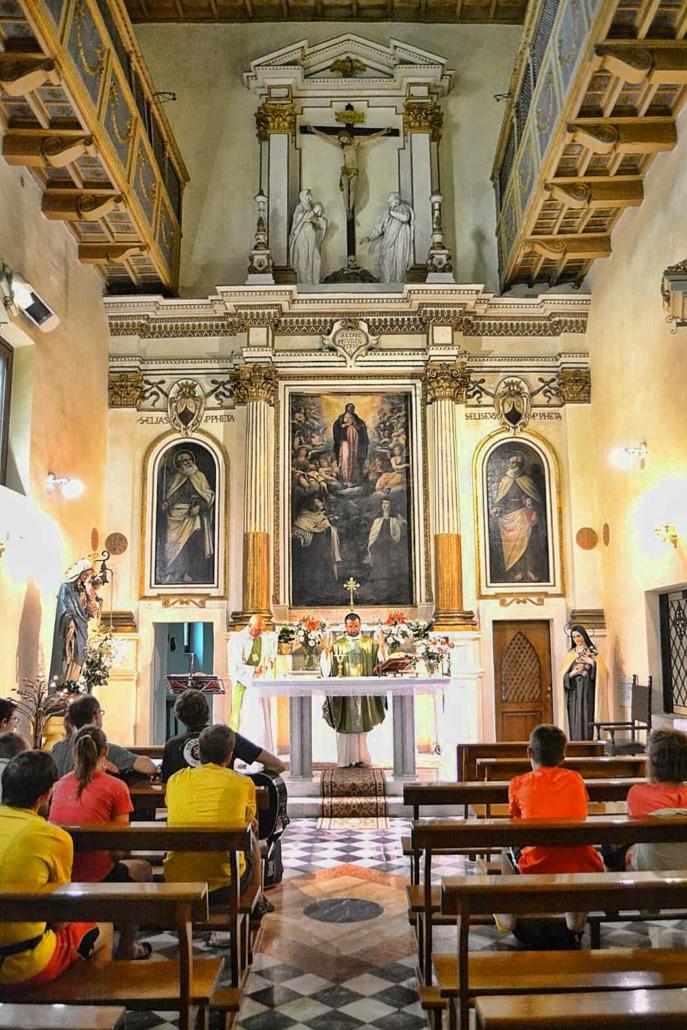 Sutri - Monastero delle Suore Carmelitane della Ss. Concezione